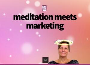 Parallax Landing Page: Meditation meets Marketin