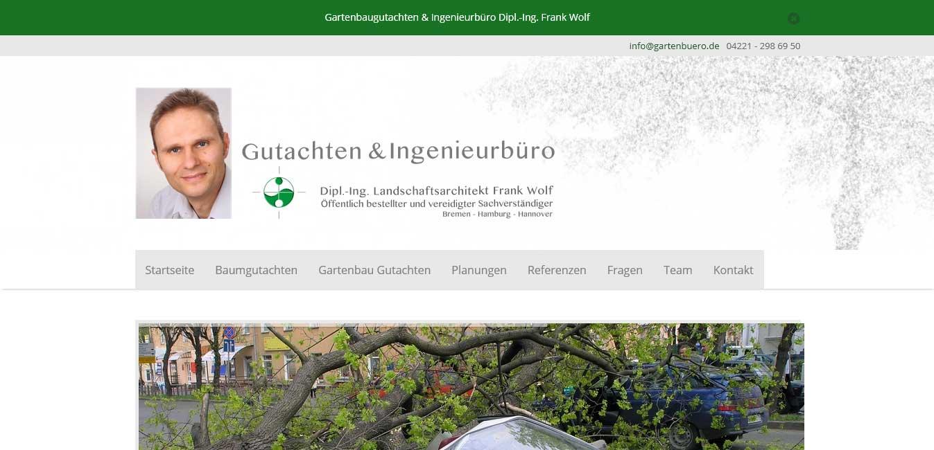 Gartenbau Gutachten - nachher