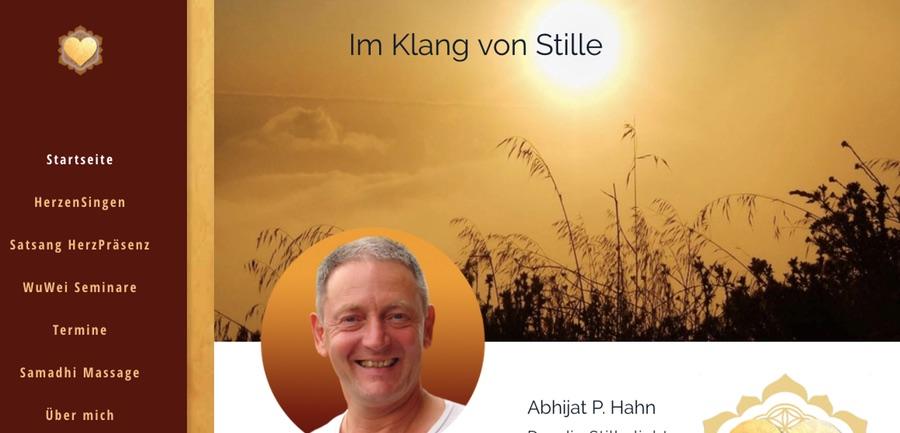 Mantrasingen, Satsang, Meditation mit Abhijat P. Hahn