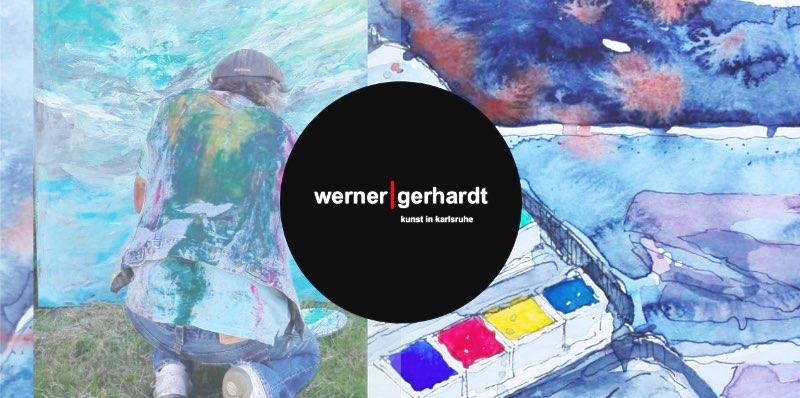 Werner Gerhardt, Kunst in Karlsruhe