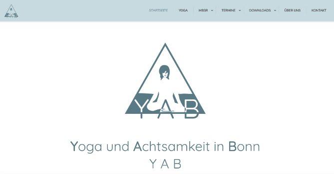 YAB Yoga und Achtsamkeit in Bonn