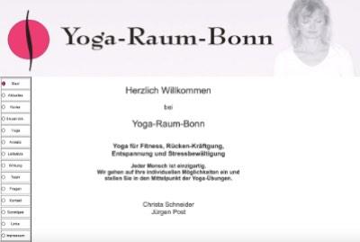 Yoga Raum vorher