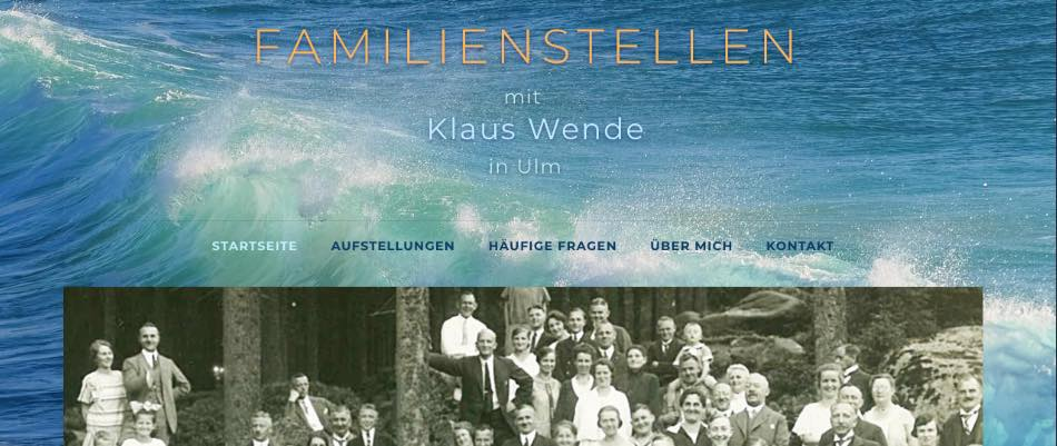 Familienstellen Wende in Ulm