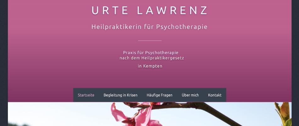 Psychotherapie Lawrenz (HPG) in Kempten