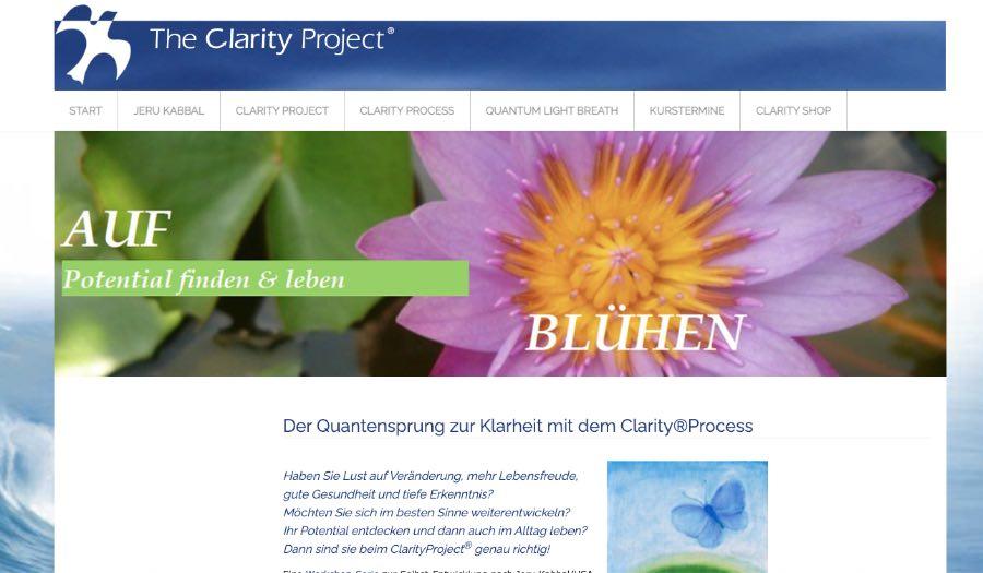 vorher: das ClarityProject